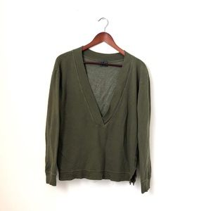 Left of Center•Green Sweater Pullover